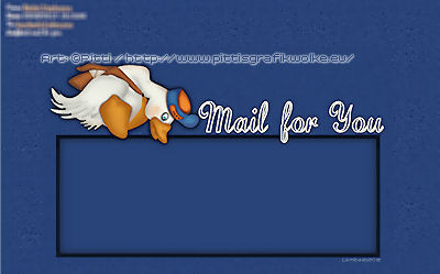 im letter announcing mail